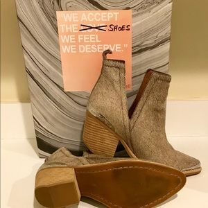 Cromwell Cutout Western Boot - Taupe
